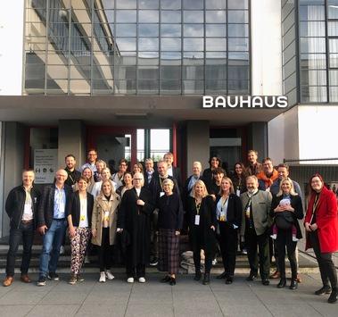 Die Einheitsbotschafter im BAUHAUS in Dessau zum #TdE2021