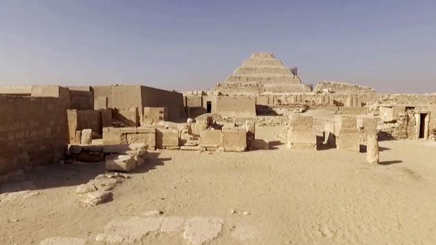 Ägyptens Totenstadt: Neue ZDFinfo-Doku über Sakkara