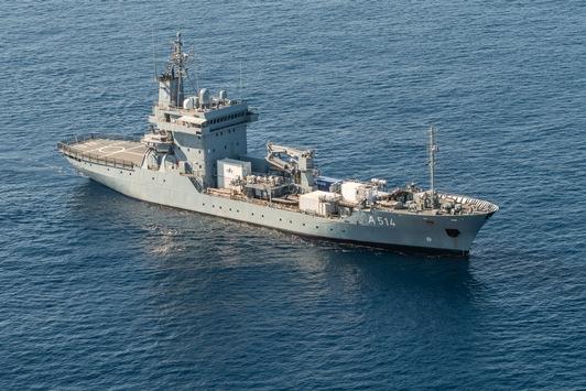 """Tender """"Werra"""" unterstützt NATO-Operation in der Ägäis"""