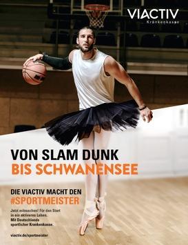 Von Slam Dunk bis Schwanensee – Die Viactiv macht den Sportmeister
