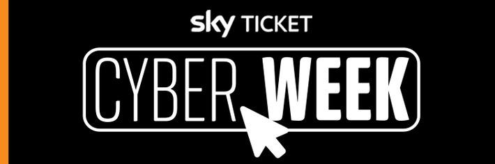 Der Sky Ticket Cyber Week Deal wartet… aber nur für kurze Zeit: Die besten Serien und Blockbuster jetzt mit dem kostenlosen Sky Ticket TV Stick auf jedem Fernseher streamen /