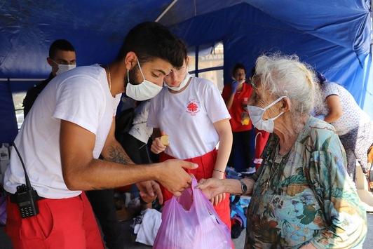 Caritas international: Mehr als 1,5 Millionen Euro für Beirut an Hilfen bereitgestellt