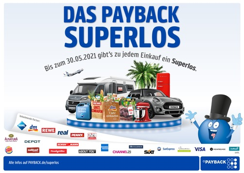 """PAYBACK startet die große """"PAYBACK Superlos"""" Aktion"""