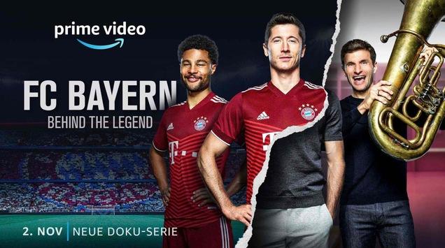 FC Bayern – Behind the Legend startet am 2. November exklusiv bei Amazon Prime Video