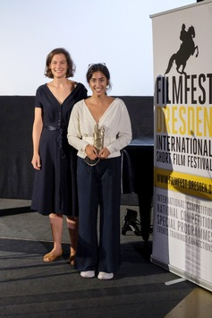 Filmfest Dresden: Regisseurin Mahnas Sarwari gewinnt den vom MDR gestifteten Publikumspreis