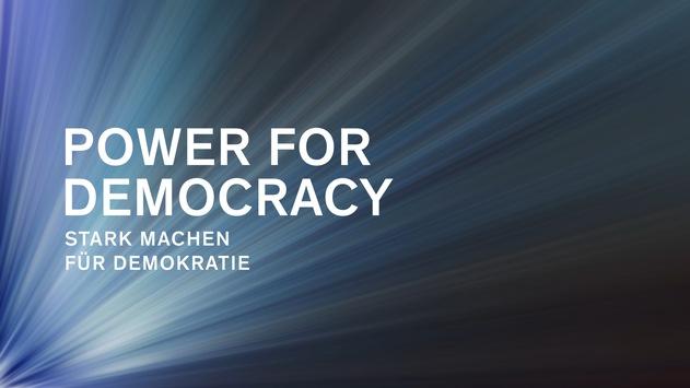 Demokratie stark machen: Philip Morris lobt neuen Award Power for Democracy aus