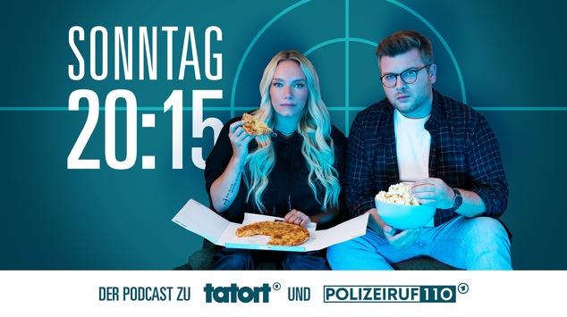 """""""Sonntag 20:15 Uhr – Der Podcast zu Tatort und Polizeiruf"""""""