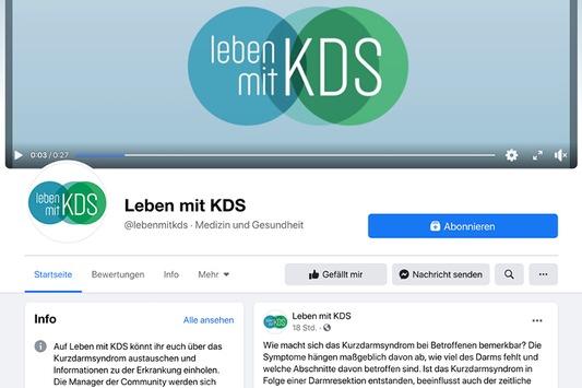 "Leben mit Kurzdarmsyndrom / Takeda launcht Social-Media-Kanäle ""Leben mit KDS"""