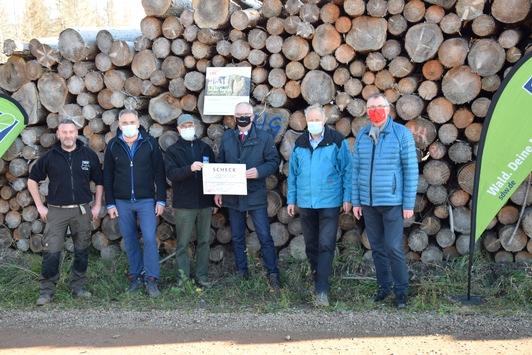 LBS und SDW pflanzen Bäume in Wernigerode