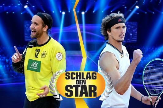"""""""Schlag den Star"""" wird olympisch: Alexander Zverev tritt am Samstag live auf ProSieben gegen Silvio Heinevetter an"""