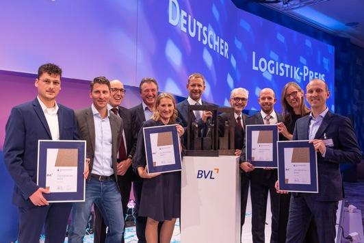 """Der Deutsche Logistik-Preis 2021 geht an DB Cargo / """"Bayern-Shuttle"""" überzeugte die Jury"""