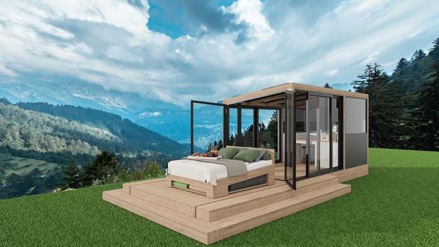 DreamAlive Lodge. Freiluft-Schlaferlebnis im Biosphärenpark Großes Walsertal