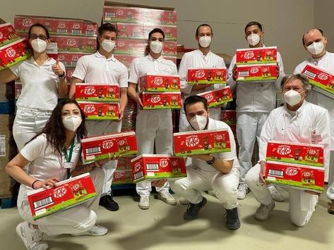 Süßer Ostergruß für Pandemie-Betroffene: Nestlé Deutschland verschenkt 500.000 Schokoladen-Osterhasen / 26 Institutionen verteilen Oster-Produkte an Menschen in ganz Deutschland