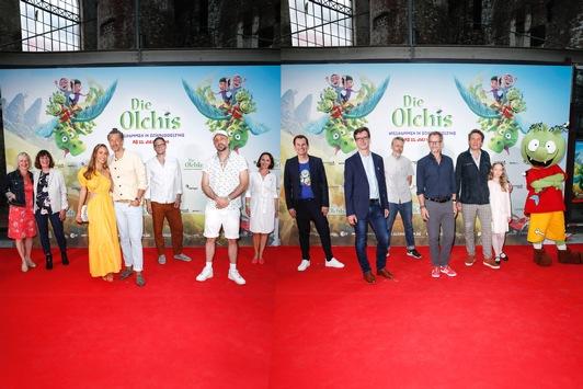 Premiere in Hamburg / DIE OLCHIS – WILLKOMMEN IN SCHMUDDELFING