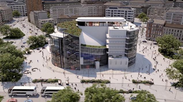 Entwurf von Bauhaus-Gründer Walter Gropius von 1927 erstmals umgesetzt: Düsseldorfer THEATER DER KLÄNGE erschafft virtuelles Totaltheater