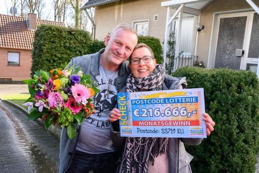 Postcode-Premiere: 1,3 Millionen Euro für Bielefeld