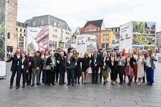 Erlebnisse der Einheitsbotschafter zum Tag der Deutschen Einheit