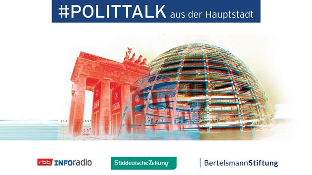 """""""Polittalk aus der Hauptstadt – Wer schafft's ins Kanzleramt?"""" Annalena Baerbock und Olaf Scholz im Gespräch – am 17.5. im rbb"""