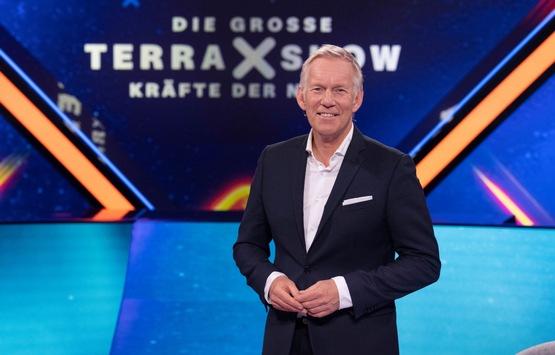 """""""Die große 'Terra X'-Show"""" mit Johannes B. Kerner im ZDF"""