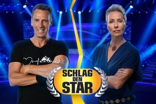 """Großer Bruder gegen große Schwester: Jürgen Milski tritt gegen Sonja Zietlow an bei """"Schlag den Star"""" am Samstag auf ProSieben. Live"""