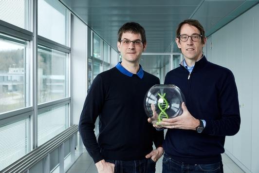 DNA-basierte Datenspeicherung mittels synthetischer Fossilien: Österreichischer Forscher Robert Grass als Finalist für den Europäischen Erfinderpreis 2021 nominiert