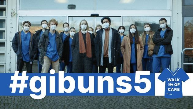 #gibuns5 – Pflege macht sich stark! – Filmveröffentlichung  Walk of Care will mit Film zusätzlich auf die fünf Forderungen der Beschäftigten im Gesundheitswesen aufmerksam machen – Appell an Politik und Gesellschaft