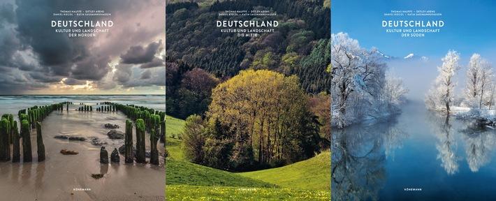 Streifzug durch Deutschland / Kultur und Landschaft in 3 Bänden mit 2112 Seiten und 6000 Abbildungen