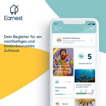 Nachhaltigkeit im App-Format: Earnest