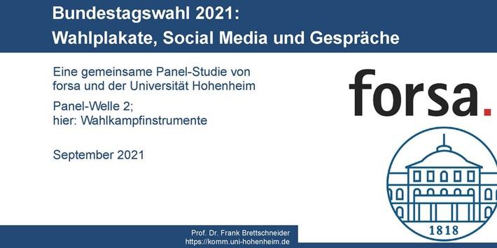 Bundestagswahl: Gender-Gap bei Gesprächen über Politik