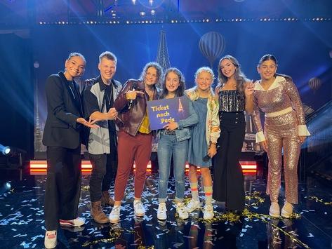 Pauline fährt für Deutschland nach Paris / 12-Jährige gewinnt in Live-Show bei KiKA den Junior ESC-Vorentscheid