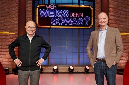 """Das Erste: Witzige Wetterfrösche – Karsten Schwanke und Sven Plöger bei """"Wer weiß denn sowas?"""""""