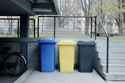 Plötzlich Mülltrennung: Erste Wohnung
