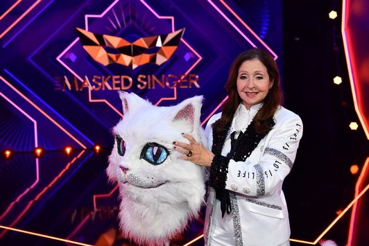 """Auf neuem, einmaligen Sendeplatz: """"The Masked Singer"""" und ProSieben glänzen als Marktführer / Vicky Leandros begeistert die Zuschauer als Katze"""