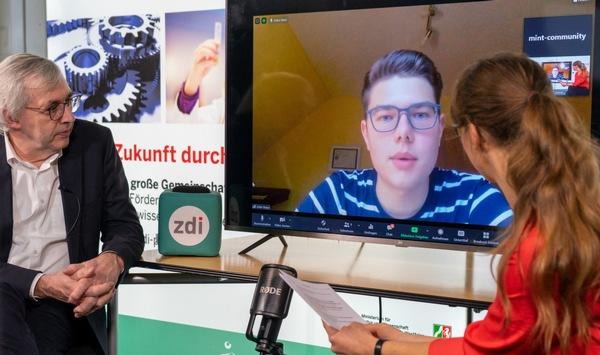 Pressemitteilung: Vom Roboter-Programmierer zum Mentor & zdi-Guru – 15 Jahre MINT-Förderung in NRW
