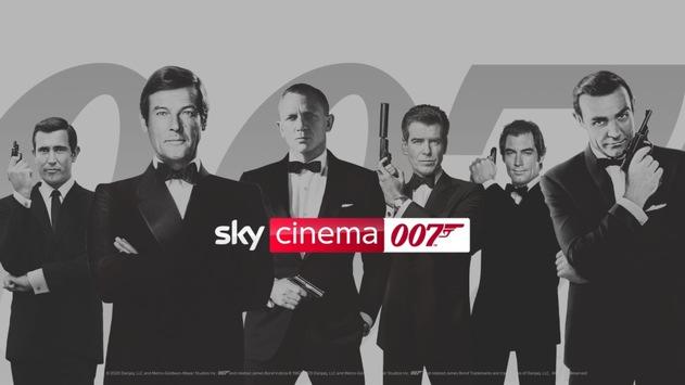 James-Bond-Filme rund um die Uhr: ab Freitag auf Sky Cinema 007 und auf Abruf