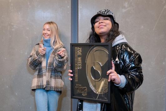 """NEW MUSIC AWARD 2020: Zoe Wees ist die """"Durchstarterin des Jahres"""""""