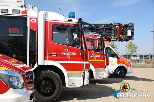 FW-MG: Mülltonnenbrand