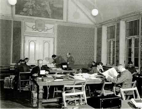 75 Jahre Press Camp: Als im Graf von Faber-Castell'schen Schloss Geschichte geschrieben wurde
