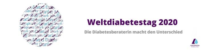 Weltdiabetestag 2020: Ascensia Diabetes Care lässt Danke sagen