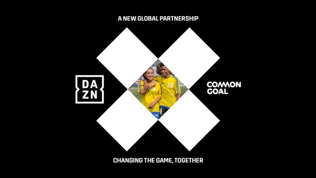 DAZN und Common Goal starten mehrjährige globale Partnerschaft