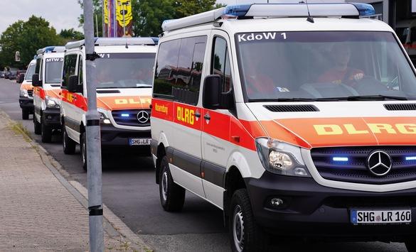 DLRG entsendet zusätzliche Unterstützung in Katastrophengebiete