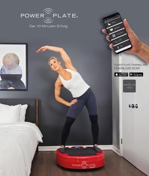 Bleibe mit Power Plate zu Hause FIT!