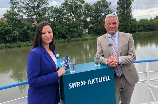 """""""SWR Aktuell Sommerinterview"""" mit Thomas Strobl (CDU) im Hörfunk, Fernsehen und Internet"""