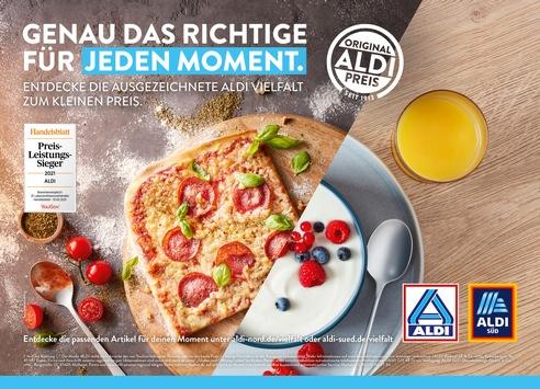 Genau das Richtige für jeden Moment: ALDI Kampagne stellt Preis-Leistungs-Kompetenz in den Mittelpunkt