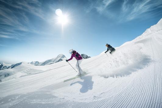 Endlich wieder auf die Piste: Am 9. Oktober startet das Kitzsteinhorn in die Wintersaison