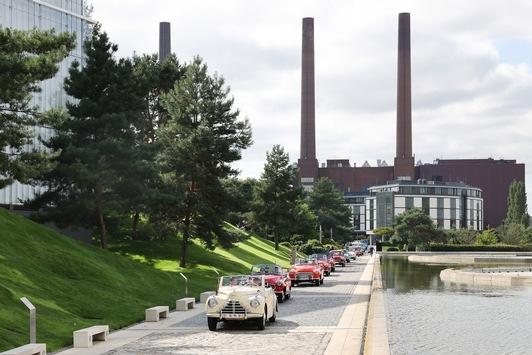 Tschechische Klassiker in der Autostadt: die Ausfahrt der ŠKODA Oldtimer-IG in Bildern