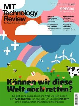 Technology Review mit Sonderausgabe zum Klimawandel / Können wir bis 2050 wirklich klimaneutral werden?