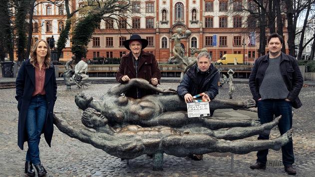 """Neuer NDR """"Polizeiruf 110"""" aus Rostock mit Anneke Kim Sarnau, Charly Hübner und Bela B. Felsenheimer"""
