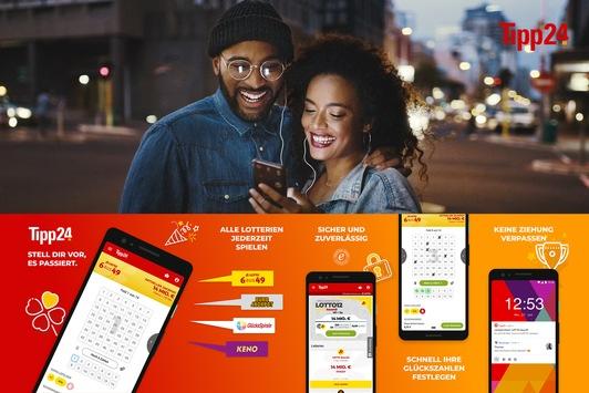 Auch Tipp24-App ab sofort im Google Play Store verfügbar