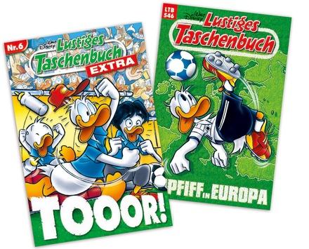 Der Ball rollt! Fußball-Europameisterschaft schon jetzt in Entenhausen